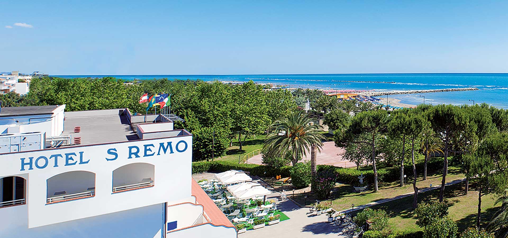 Hotel San Remo - Benvenuti <br/>all&#8217;Hotel San Remo